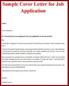 Samples of cover letters for