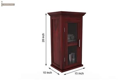 Benitez Bathroom Cabinet Mahogany Finish Mahogany Bathroom Furniture