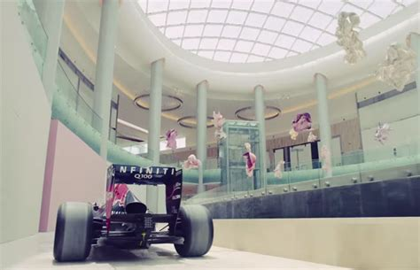 mall reds yas mall tour with infiniti red bull video what s on