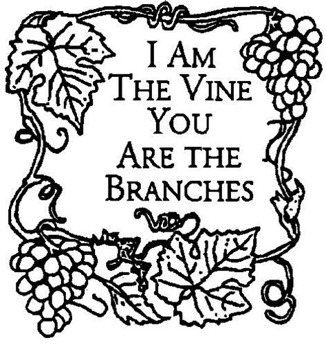 Coloring Page Vine And Branches by Free Coloring Pages Of Vine Branches