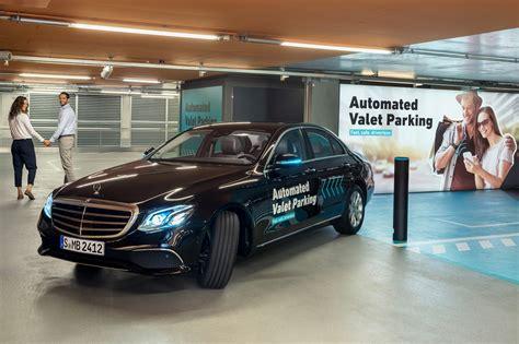 mercedes parking bosch and daimler demonstrate autonomous valet parking