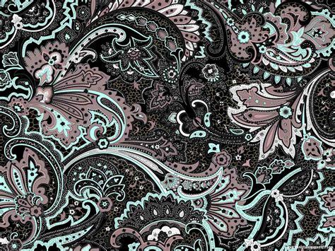 beautiful batik textures powerpoint background wall