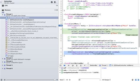 xcode 6 autolayouts stack overflow xcode full stack trace stack overflow