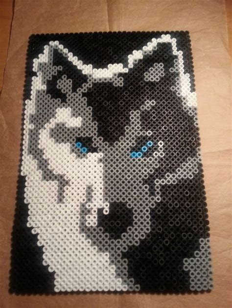 perler bead wolf 115 best images about perler on