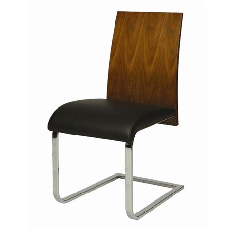 pastel furniture federick dining chair in walnut black