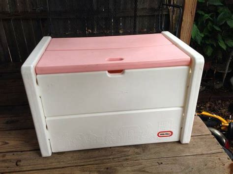 little tikes toy box pink bench little tikes pink and white toy box for sale