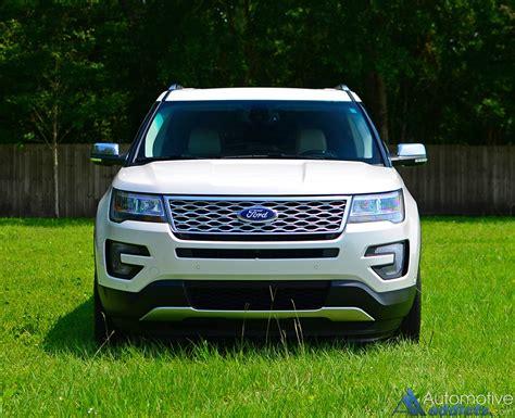 2016 ford explorer awd 2016 ford explorer platinum awd review test drive
