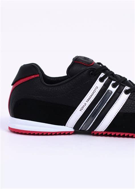 adidas y3 adidas y3 sprint trainers black red