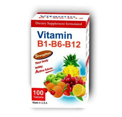 Vitamin B1 B6 B12 doxycycline about and health