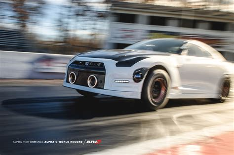 Mile Records by Boostaddict Ams Is Back On Top The Nissan Gtr 1 4 Mile