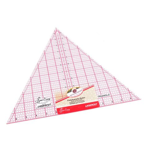 60 Degree Triangle Ruler Quilting by Sew Easy 60 Degree Triangle Quilting Ruler 12 X 13 8