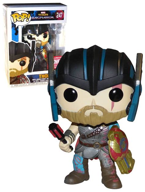Funko Pop Hela Masked Marvel Thor Ragnarok funko pop marvel thor ragnarok 247 gladiator thor collector corps exclusive new mint