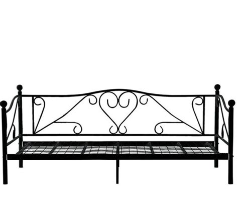 beds mr price black aluminium day bed frame was sold for