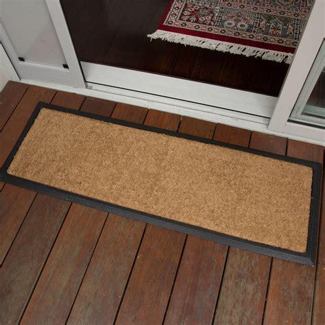 Door Doormat by Doormat 40x120cm Plain Coir Door Mat Doormat Outdoor