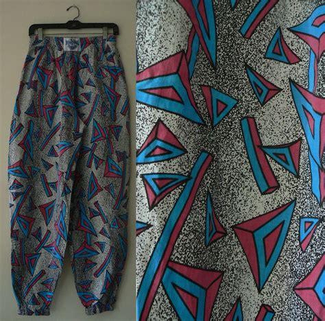 Geomatric Graffiti Printing S M L Xl Dress 30509 90 s unisex geometric print parachute m l xl