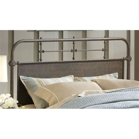 king panel headboard hillsdale kensington king panel headboard in old rust