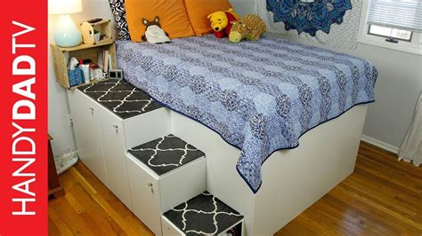 ikea hacks platform bed ikea hack platform bed freestanding version youtube