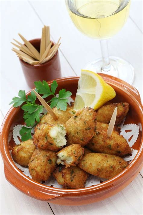appetizer recipe spanish salted  fritters        speckled trout