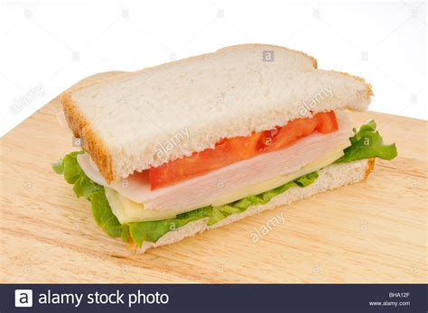Handmade White Bread - half of a turkey and cheese sandwich on white bread with
