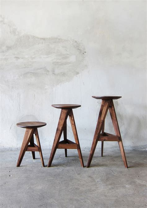 bar stool design piece round stool bar stool by take home design at coroflot com