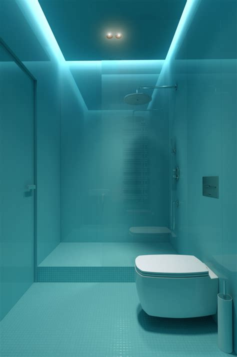 contemporary bathroom lighting interior design ideas
