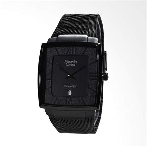 Jam Tangan Original Alexandre Christie 8329 Black jual alexandre christie tranquility jam tangan pria hitam 8329 mdbipba harga