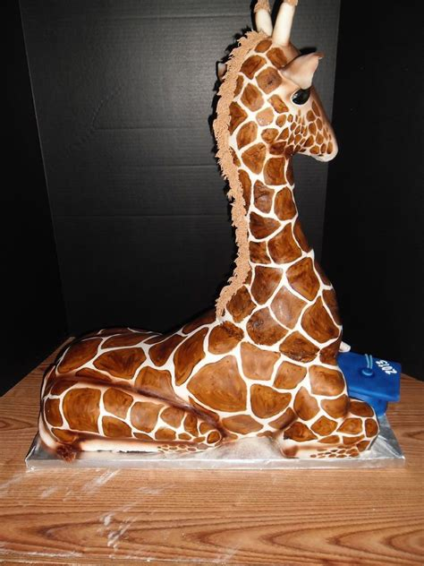 17 best ideas about giraffe cakes on pinterest baby