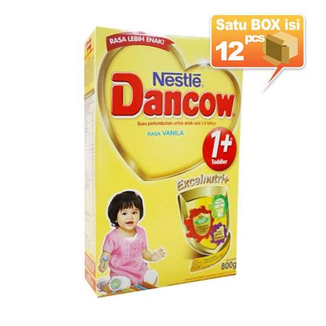 Nestle Dancow 3 800gr jual dancow 1 vanila formula 800gr 12 pcs karton