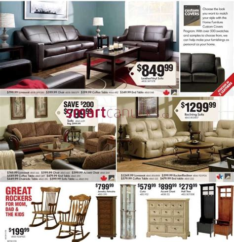 home furniture flyer oct 31 to nov 11