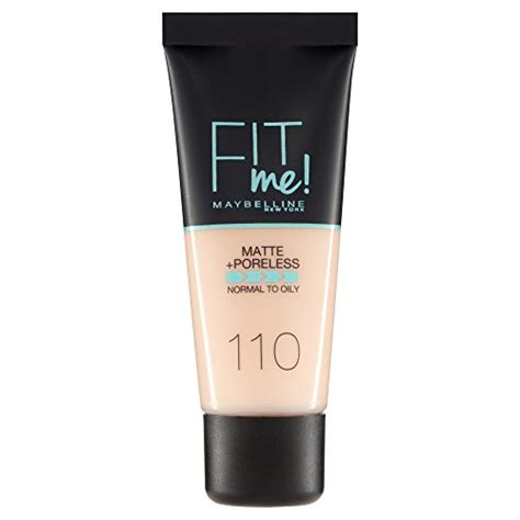 Foundation Maybelline Fit Me Matte maybelline fit me matte and poreless foundation 30 ml