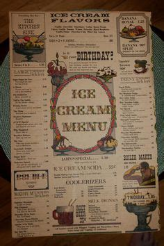 Jahns Ice Cream Parlor Richmond Hill Queens Ny Home Of The Kitchen Sink Menu