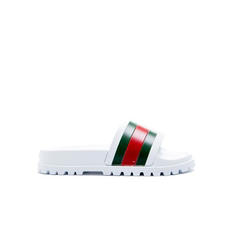 Gucci White gucci sandals white derodeloper