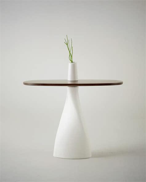 minimalist table vase fusion by designer strupinskaya