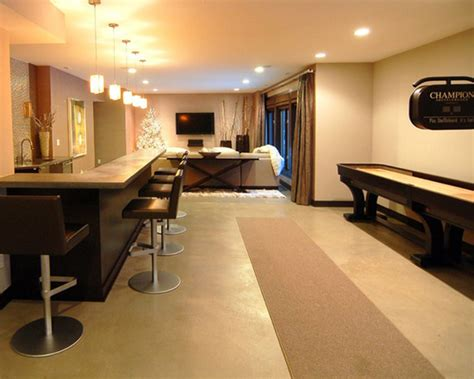 inspiring basement finishing decor