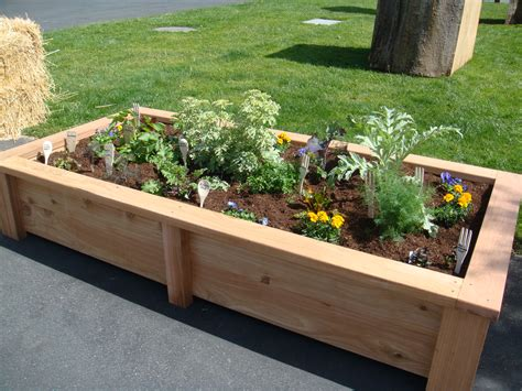 vegetable bed raised beds for a vegetable garden gardening