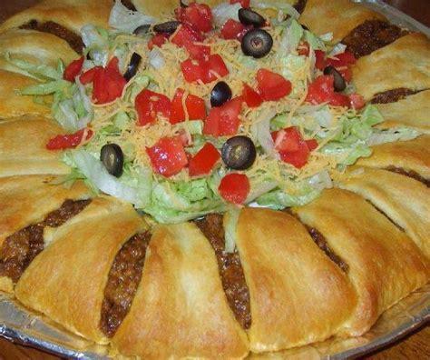 crescent roll taco bake c4 ii