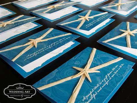 Wedding Invitations Sea Theme by Themed Wedding Invitation Felt