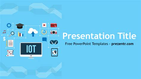 Ppt Themes Internet | free internet of things powerpoint template prezentr