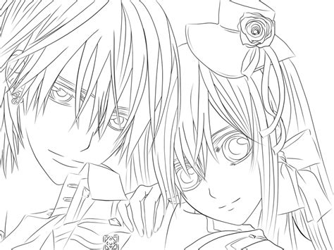 Zeki Line By Keino Tjan On Deviantart Anime Vire Coloring Pages Printable
