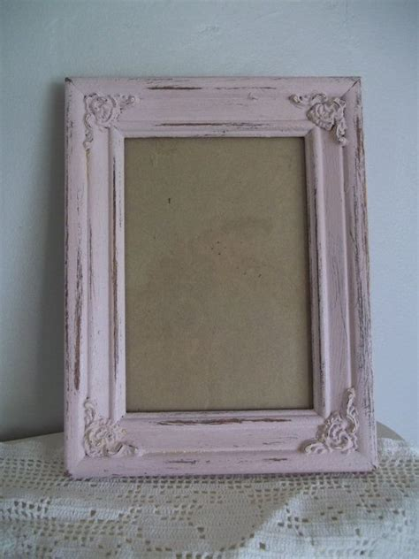 chalk paint picture frames chalk paint picture frame upcycled rustic shabby chic 5 x 7