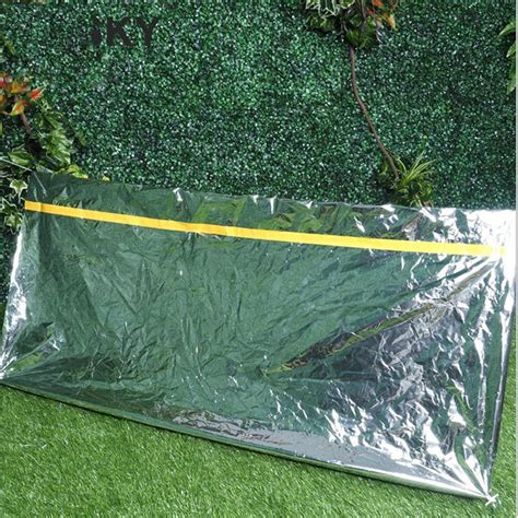 Outdoor Indoor Sleeping Bag 3 Layer Kantong Tidur Tahan Dingin 1 new folding outdoor emergency tent blanket sleeping bag survival cing shelter buyincoins
