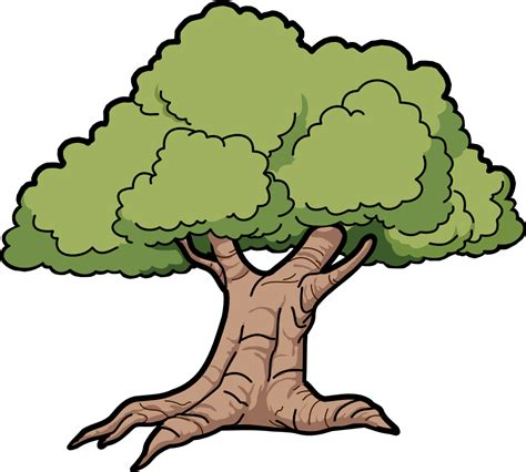 clipart tree tree oak scalable vector graphics svg clipartsy clipart