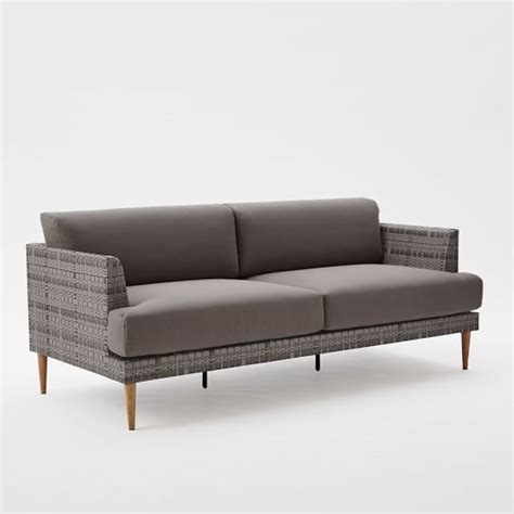 Woven Sofa by Resort Woven Sofa West Elm