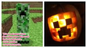 minecraft pumpkin template minecraft creeper pumpkin carving