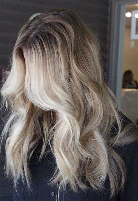 dark roots blonde hair 15 long blonde hair color ideas for stylish ladies