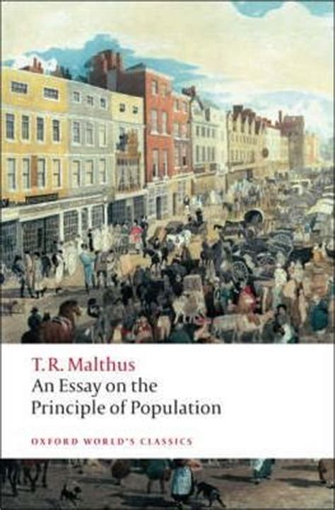 malthus founder of modern demography books an essay on the principle of population malthus