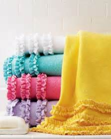 ruffle bath towels 17 best images about gift ideas 50 on