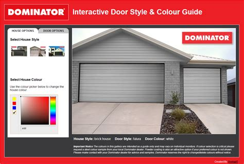 Garage Door Selection Guide Interactive Garage Door Style And Colour Guide
