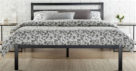 Headboard Only Bed Frame Walmart Platform Metal Bed Frame W Headboard Starting At Only 94 58 More Hip2save