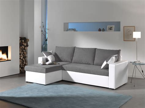 Petit Canapé D Angle 2 Places 1545 by Bestmobilier Canap 233 D Angle Arizona Convertible
